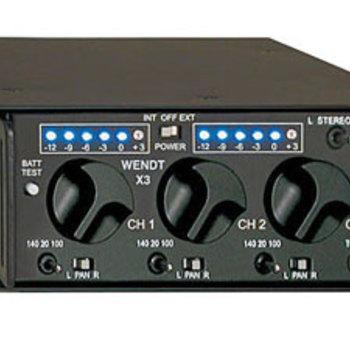 Rent Wendt X3 3-Channel Audio Mixer