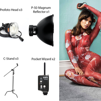 Rent Custom Profoto Kit For Fashion Editorial Lighting