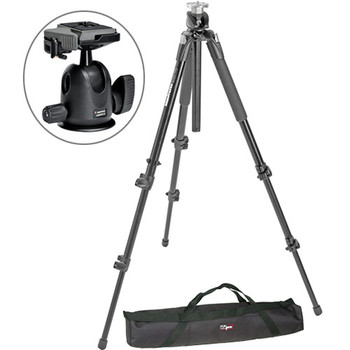 Rent Manfrotto 190XB Tripods with Manfrotto Ball Heads