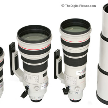 Rent Canon L Series Lens kit