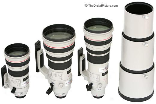 Canon super telephoto l lenses