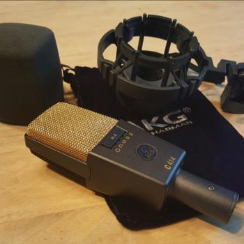 Rent AKG 414 condensor mic