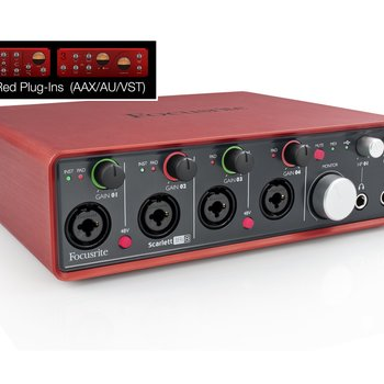 Rent Focusrite Scarlett 18i 8 channel digital interface
