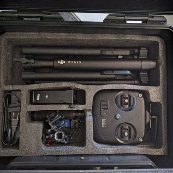 Rent DJI Ronin M 3-Axis Gimbal Stabalizer