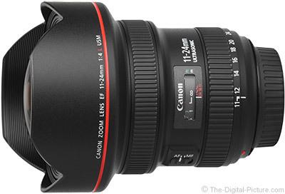 Canon ef 11 24mm f 4l usm lens