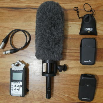 Rent Sound Recording Kit (Zoom H4n/Sennheiser ME66/RODE Filmmaker Kit)