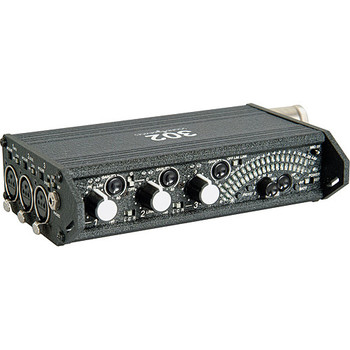Rent Sound Devices 302 Portable 3 Channel Field Mixer