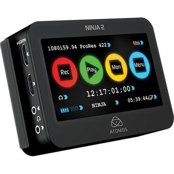 Rent Canon C100 with Atomos Ninja 2 external video recorder