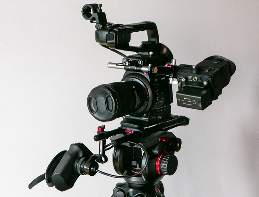 C100 with rig processed