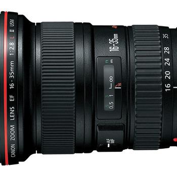 Rent Canon L series 16-35mm 2.8