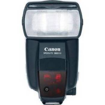 Rent Canon Speedlite 580EX E-TTL II Flash