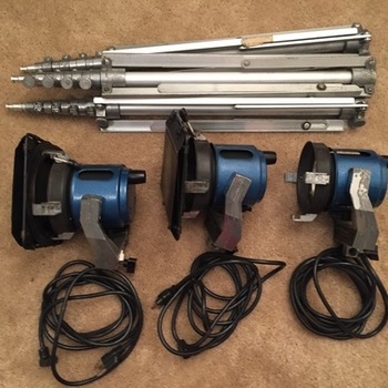 Rent Lighting & Camera Package
