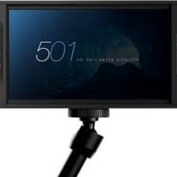 "Rent SmallHD 501 ‑ 5"" LCD On‑Camera Monitor with 3D LUT"
