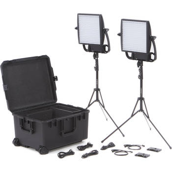 Rent Two Litepanels Astra 1x1 Bi-Color LED Panels and Diffusion Kit