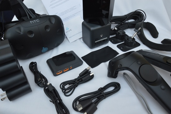 Vive consumer unboxing 67