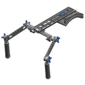 Rent Dovetail Shoulder Rig w/ Handgrips (no baseplate)