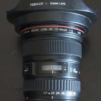 Rent EF 17-40mm f4L
