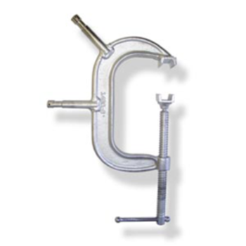 "Rent C-Clamp 4"" w/ Baby Pin"