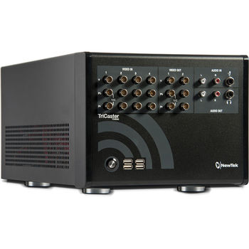Rent NewTek TriCaster Vision Mixer (for Live Streaming)