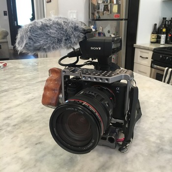 Rent A7Sii Doc Production Package with Audio Expansion