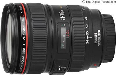 Canon ef 24 105mm f 4 l is usm lens