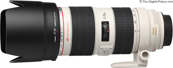 Canon ef 70 200mm f 2.8 l is ii usm lens