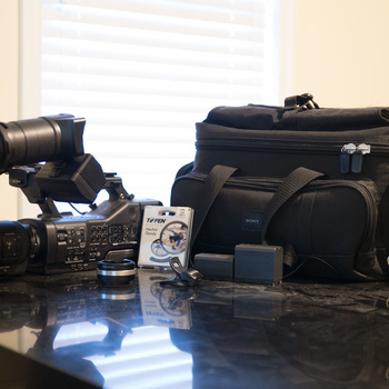 Rent Sony NEX-EA50UH Camcorder with 18-200mm Servo Zoom Lens