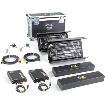 Rent Kino Flo Interview 2' 4Bank Kit with travel case