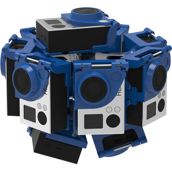 Rent 360RIZE (360Heros) 10 GoPro Hero4 VR rig