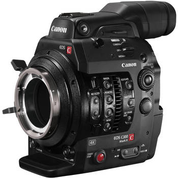 Rent Canon C300 Mark II (PL Mount)