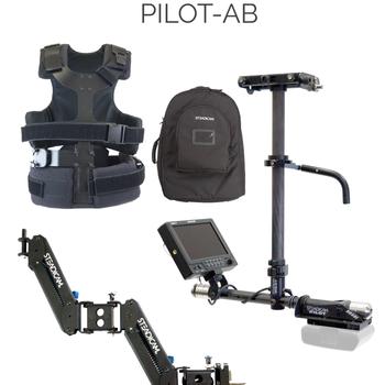 Rent steadicam pilot ab camera stabilization system