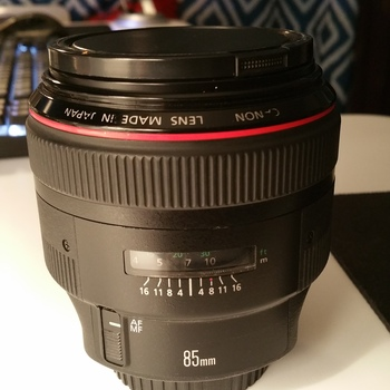 Rent Canon EF 85mm f/1.2L II USM Lens Canon 85