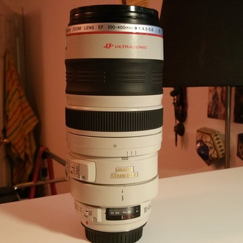 Rent Canon EF 100-400mm f/4.5-5.6L IS USM Lens Canon 100-400