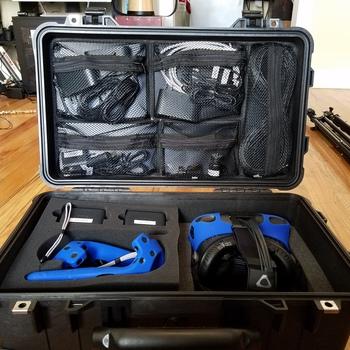 Rent HTC Vive Kit in Pelican Case in Chicago!