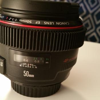Rent Canon EF 50mm f/1.2L USM Lens Canon 50