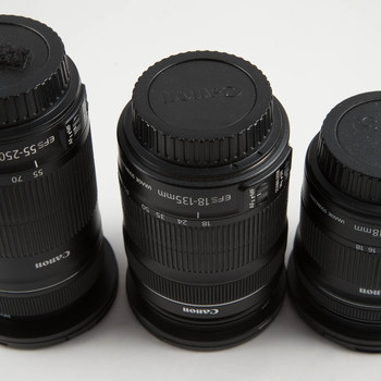 Rent Canon STM Zoom Lens Kit