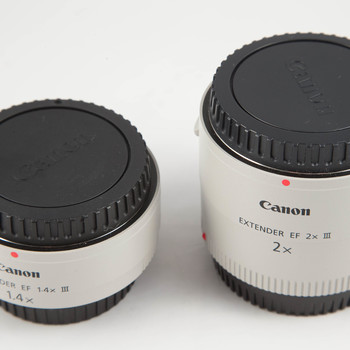 Rent Canon EF III Extender Kit (1.4x AND 2x extenders)
