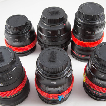 Rent Canon L Series Prime Six Lens Set