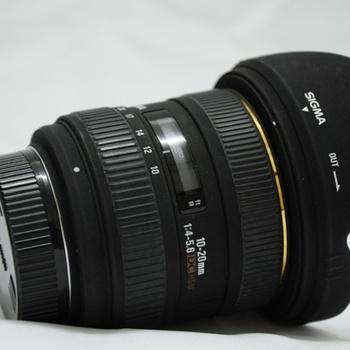 Rent EX Sigma 10-22mm Lens