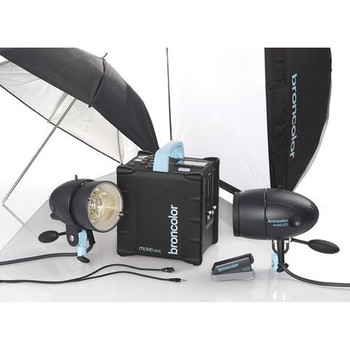 Rent Ultimate Broncolor Flash Photo Kit - Portable and Powerful