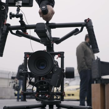 Rent DJI Ronin MX w. Flight Case + Monitor Mount