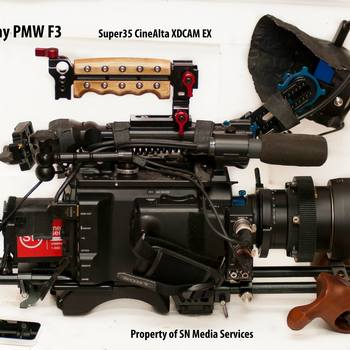 Rent Sony PMW-F3 V 1.4 SLOG RGB 4444 with  accessories