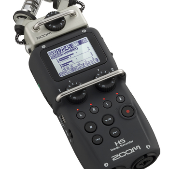 Rent Zoom H5 Four-Track Portable Recorder