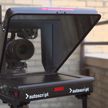 Rent AutoCue Teleprompter System