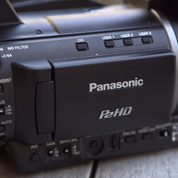 Rent Panasonic AG-HPX250 P2 HD Handheld Camcorder