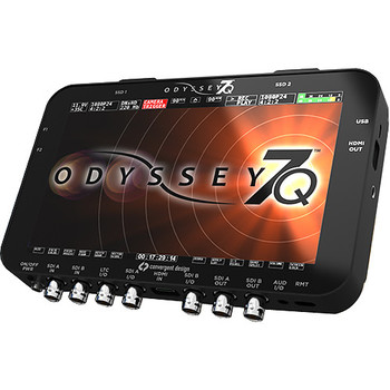 Rent Convergent Design Odyssey 7Q Recorder with 2 512gb SSD