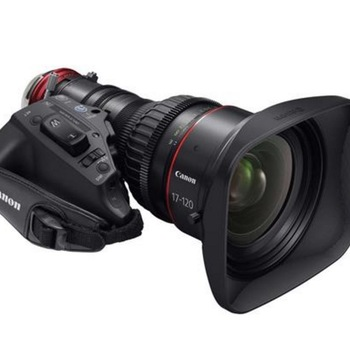 Rent Sony FS5 + Canon Cine Servo 17-120 Custom ENG Kit