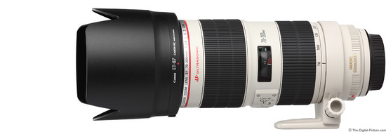 Canon ef 70 200mm f 2.8 l is ii usm lens