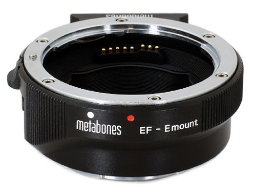 Metabones canon ef lens to sony e mount camera adapter