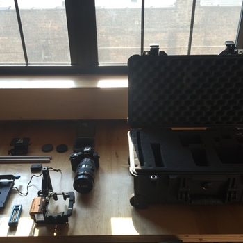 Rent Sony a7s Kit w/ Canon Lens & Accessories